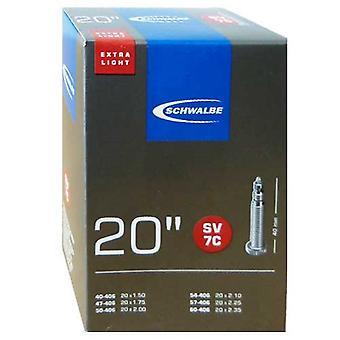SCHWALBE SV 7C ekstra let cykel slange 20″