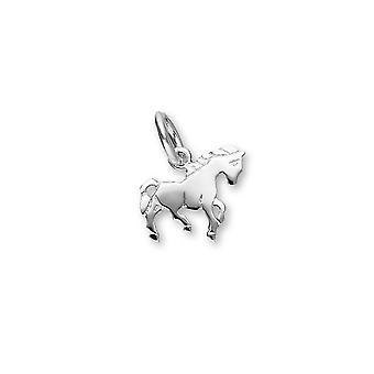 Серебряный животных дикой природы шарм дизайн милый пони