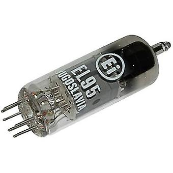 EL 95 = 6 DL 5 Vacuum tube Output pentode 250 V 24 mA Number of pins: 7 Base: Miniature Content 1 pc(s)