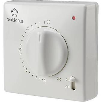 Renkforce TR-93 Termostato interior Modo de montaje en superficie 24h 5 hasta 30 oC