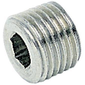 ICH 401743 mannelijke Plug conisch 1/4 Brass