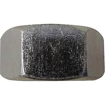 TOOLCRAFT 815365 Hexagonal porcas M5 ISO 4032 aço de zinco chapeado 100 PC (s)