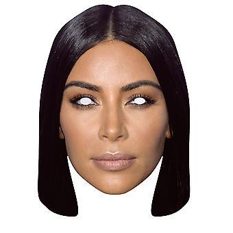 Kim Kardashian 2D Single Card Party Fancy Dress Mask