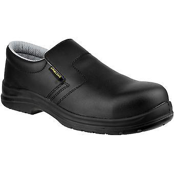 Amblers sikkerhet Mens FS661 Slip på vanntett sikkerhet sko svart