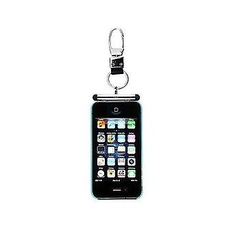 iHangy sleutelhanger met TouchPen Stylus voor iPhone 4 4S 3 g 3G & iPod - Silver