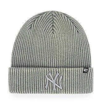 47 fire Knit Beanie - Northwood New York Yankees grey
