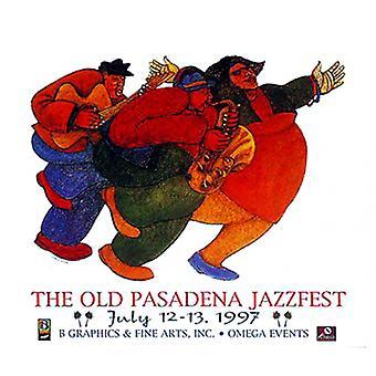 Mo Jazz Poster Print by Charles Bibbs (32 x 28)