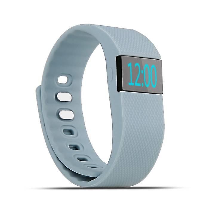 Stuff Certified ® Original TW64 Smartband Fitness Sport Activity Tracker Smartwatch Smartphone Watch OLED iOS Android iPhone Samsung Huawei Gray