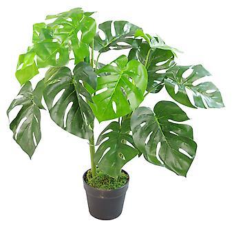 Artificial Monstera Plant - 80cm Monstera