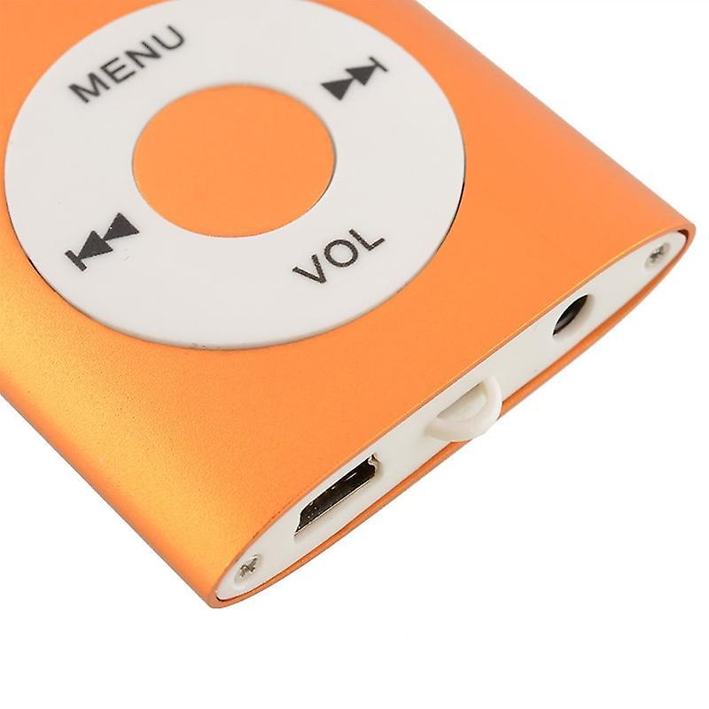 Slim MP3 Spelare med FM Radio Support - Blå