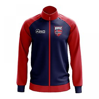 Norwegen-Konzept Fußball Trainingsjacke (Marine)