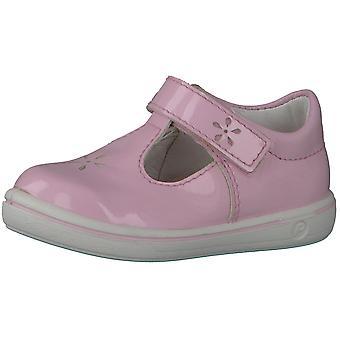Ricosta Pepino Mädchen Winona T-bar Schuhe Blush Pink Patent
