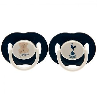 Tottenham Hotspur FC Official Soothers (Pack Of 2)