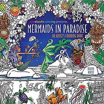 Zendoodle färg presenterar sjöjungfrur i paradiset