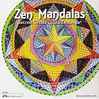 Mandalas de zen: Cercle sacré inspiré par Zentangle
