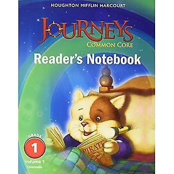 Viaggi: Notebook consumabili Volume 1 grado di lettore comune nucleo 1 (Houghton Mifflin Harcourt viaggi)