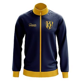 Boca Juniors koncepcia futbalová dráha bunda (Navy)