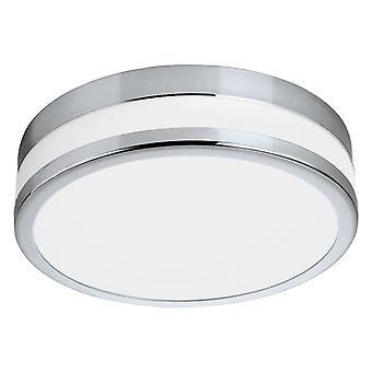 Eglo - conduit Palerme 24w Chrome décoratif rond de lumière de salle de bains avec EG94999 de verre opale