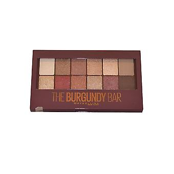 Maybelline The Burgundy Bar Eye Shadow Compact 9.6g 13 Looks in 1 Palette