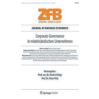 Gobierno Corporativo en Mittelstandischen Unternehmen diario de economía de la empresa por Welge y Martin