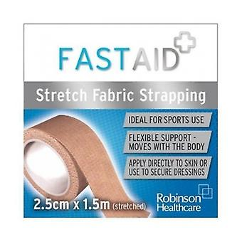 Fast Aid Strapping 2.5Cm X1.5M
