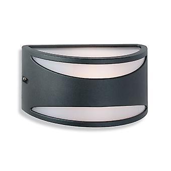 Firstlight-1 luz de pared ligera-60W negro IP65-5617BK