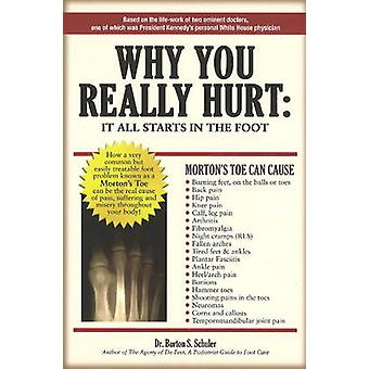 Why You Really Hurt - It All Starts in the Foot by Burton S. Schuler -
