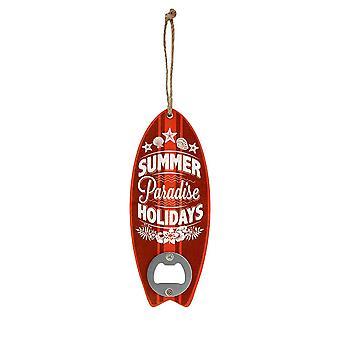 Grindstore Summer Holidays Surf Board Shaped Bottle Opener