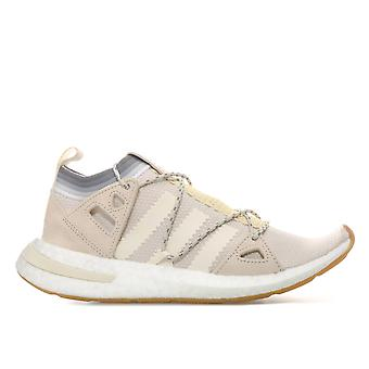 Womens adidas Originals Arkyn Trainers In Chalk-Primeknit Upper Wraps The Foot-
