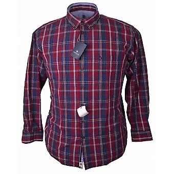 HATICO Hatico Casual Seersucker Check Shirt