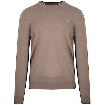 Gant Superfine Lambswool seawood melerad tröja