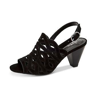 Style & Co. Womens Henleyy Slingback Sandals Suede Peep Toe SlingBack D-orsay...