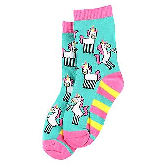 LazyOne Kids/Childrens Girls Unicorn Socks