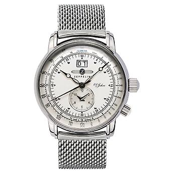 100 years Quartz Analog Man Watch with 7640M-1 Stainless Steel Bracelet
