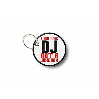 Cle Cles Key Brode Patch Ecusson Dj Not Jukebox Bag Door