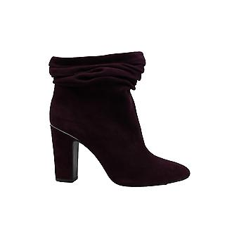 DKNY Womens sabel couro fechado Toe tornozelo moda botas