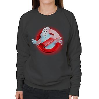 Ghostbusters Red No Ghost Logo Women's Sweatshirt