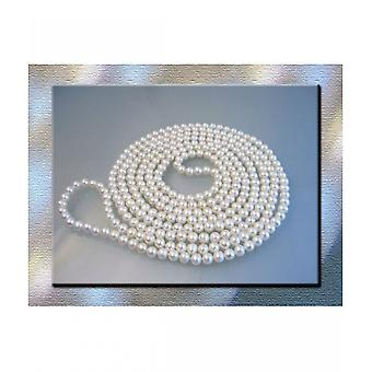 Luna-Pearls Pearl Necklace Breeding Beads Extra Long 250cm HKS26