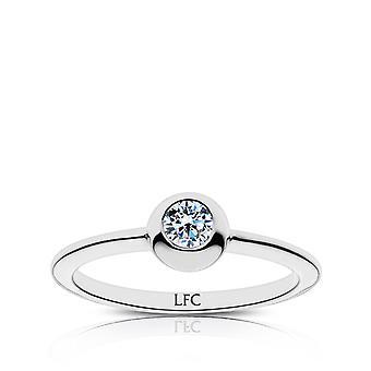LiverPool Diamond Ring i sterling sølv design af BIXLER