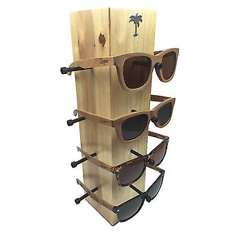 Zerpico - Wooden Sunglasses Display