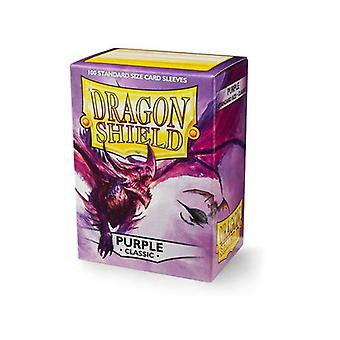 Dragon Shield Matte Purple Non Glare 100 Mangas (Pacote de 10)