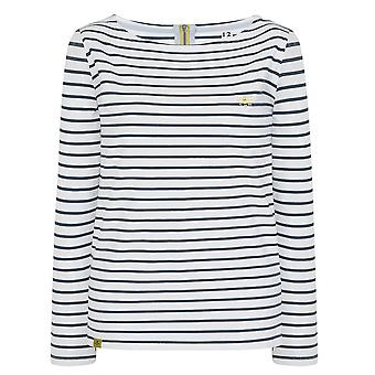 Lighthouse Causeway Ladies Cloud/Midnight Stripe
