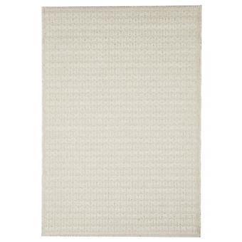 Outdoor carpet for Terrace / balcony light beige Skandi look Stuoia Ecru 194 / 290 cm carpet indoor / outdoor - for indoors and outdoors