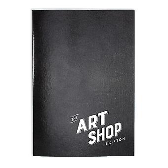 The Art Shop Skipton Laminated Cover Sketch Book with 40 Sheets A5