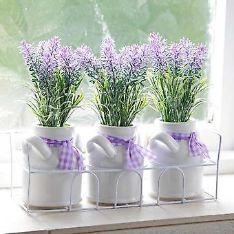 Lavender Pot Set