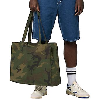 greenT Mens & Womens Organic Woven AOP Casual Shopping Bag