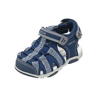 Geox B SANDAL AGASIM BOY Kids Boys Sandals Blue Flip-Flops Summer Shoes