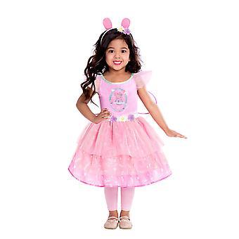 Girls Peppa Fairy Costume - Peppa Pig
