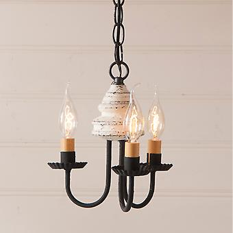 Bellview Chandelier in Vintage White