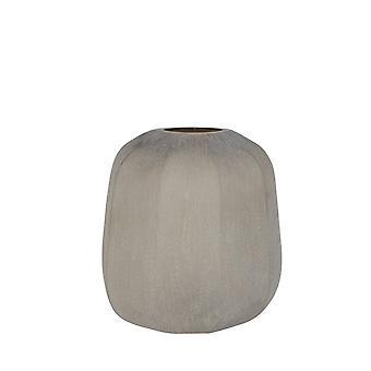 Light & Living Vase 33x32cm Pacengo Glass Light Brown